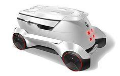 Renault VUE Concept by Hongru Zhou