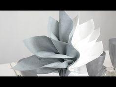 Astuces pour créer un pliage de serviette en forme de palmier | Couteaux Laguiole, tout sur la coutellerie Laguiole