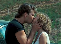 Baby and Johnny. Jennifer Grey and Patrick Swayze in Dirty Dancing. Dirty Dancing, Movie Kisses, Jennifer Grey, Romantic Scenes, Romantic Films, Movie Couples, Film Serie, Cinema, Old Movies