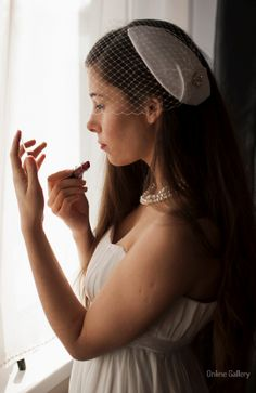 #Voaleta #handmade cu floare pentru #mirese #nunti #bride #wedding Online Gallery, Crown, Wedding, Jewelry, Fashion, Casamento, Corona, Jewlery, Moda