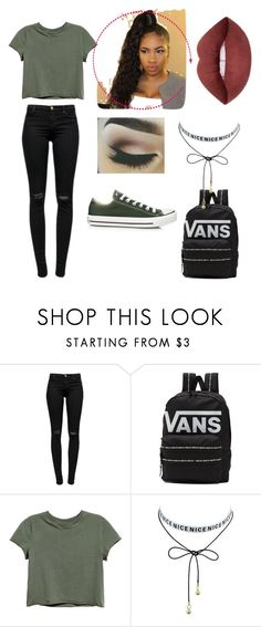 """Untitled #358"" by kassandraa-almanza on Polyvore featuring J Brand, Converse and Vans"