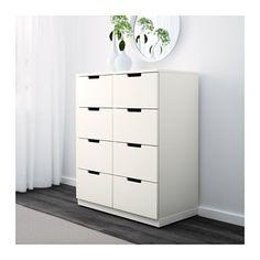 NORDLI Ladekast 8 lades - wit - IKEA