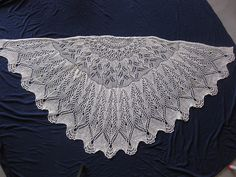 Ravelry: Debra Peacock Tail Shawl pattern by The Yarrrn Pirate