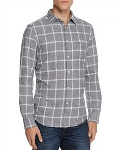 109.99$  Watch here - http://viiih.justgood.pw/vig/item.php?t=yuwc2e6914 - Diesel S-Tas Flannel Check Regular Fit Button-Down Shirt 109.99$