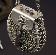 Wire Amulet by MaryTucker, via Flickr