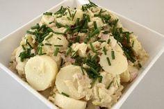 Engelsk kartoffel-salat med hvidvin 4