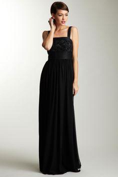 ADAM -   Sleeveless Cord Detail Maxi Dress