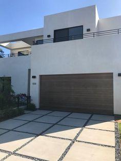 Emilio - Modern Style Custom Wood Garage Door – Lux Garage Doors