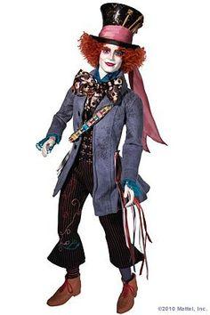 Jonny Depp as Mad Hatter