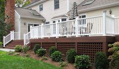 deck skirting ideas | Decks | Pinterest