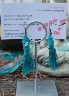 Items similar to Holly Go Lightly Breakfast at Tiffanys Inspired Tassle Earrings on Etsy All The Colors, Different Colors, Breakfast At Tiffanys, Are You Happy, Vintage Inspired, Swarovski Crystals, Make It Yourself, Earrings, Handmade