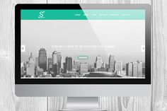 Signals - One Page Template by MAGOO STUDIO on Creative Market