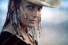 beautiful Bo Derek in her cowboy hat film 10 Ten 35m-2780