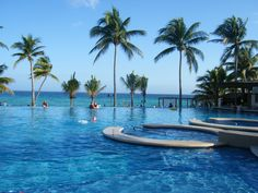 Azul Fives, all inclusive resort. Playa del Carmen. Great pools!
