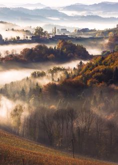 Styria - Austria / Good example of atmospheric perspective (Manuel Bischof) Oh The Places You'll Go, Places To Travel, Places To Visit, Beautiful World, Beautiful Places, Amazing Places, Beautiful Scenery, Travel Around The World, Around The Worlds