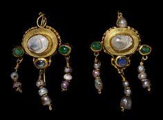 ancient roman black pearls