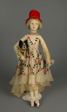 Lenci Doll, 1927, Artist Elena Scavini, Courtesy of The Strong ...