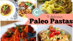 9 Paleo Pastas You'll Love!