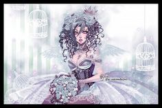 Liesbeth by =BoryChan on deviantART Girls With Flowers, Deviantart, Pretty And Cute, User Profile, Art Images, Amazing Art, Fashion Art, Goth, Fantasy