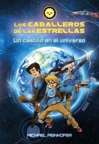 """""""Un castillo en el universo"""" de Michael Peinkofer. En la Tierra van todavía al colegio. Pero ahí afuera, en el universo, luchan contra  el malvado conde Atrox y sus robotrox. ¡Por la verdad y la justicia..., y la luz de las estrellas!  Cuando Ben, Sammy y Mia husmean una noche en la vieja mansión ni se imaginan que están siendo observados... ¡por un robot extraterrestre! El universo está en peligro...  DE 9 A 11 AÑOS: Signatura: V ANA cab"""
