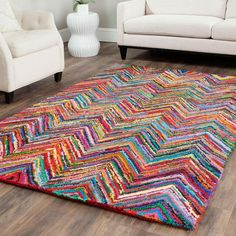 Rainbow Riot Rug - Living the Dream: Boho Escape Collection - Dot & Bo: