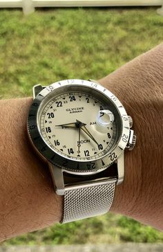 [Glycine Airman] 24 hour purist limited run Best Looking Watches, Cool Watches, Watches For Men, Glycine Airman, Luxury Watches, Cool Stuff, Stuff To Buy, Cool Photos, Pocket Watches