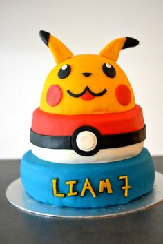 Pokemon taart / Pokemon cake // Food & So Much More