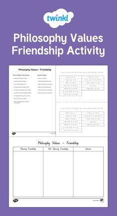 Lovely activity looking at Friendship Friendship Activities, Growth Mindset, Philosophy, Classroom, Key, Class Room, Unique Key, Philosophy Books