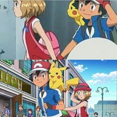 HE'S GETTING REVENGE MWAHAHA  No but really this is adorable  #Amourshipping