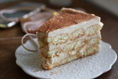 Rezept für eine Malakoff-Torte zum Geburtstag! Tiramisu, Cake & Co, Fabulous Foods, Sweet Desserts, Bon Appetit, Vanilla Cake, Cake Recipes, Bakery, Deserts