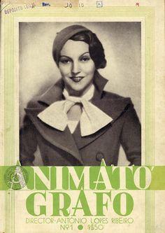 Capa de revista com Kathe von Nagy | Magazine cover with Kathe...