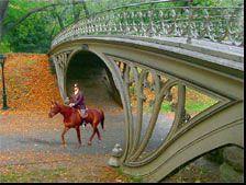 'Reservoir Bridge/Gothic Bridge' West 94th Street, Central Park : Architect : Calvert Vaux 1824-1895