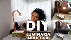 LUMINÁRIA INDUSTRIAL | DIY #10