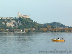The fortess of Angera (Italy) seen from Arona