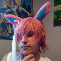 Sylveon wishes all my Wonderful Friends good morning!  #gijinka #gijinkacosplay #sylveon #pokemonmaster #pokemon #animecommunity #animegamer #anime #animeconvention #animecosplay #cosplayer #cosplay #cosplaylife #cosplaying #cosplays #convention #metrocon #metrocon2016 #otakuculture #otakuguy #otakulife #otakuclub #otakucommunity