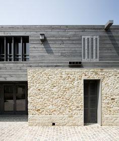 Architects: JOLY&LOIRET  Location: Milly-la-Forêt, France  Design Team: Cferm Mep And Environmental Consultant, Evp Structural Engineer, V. Pourtau Quantity Surveyor  Area: 1000.0 sqm  Year: 2013  Photographs: Courtesy of JOLY&LOIRET
