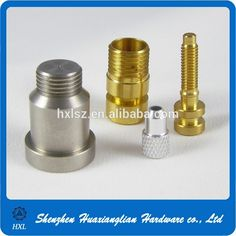 High Precision Custom Made Brass Metal CNC Central Machinery Lathe Parts#machine parts