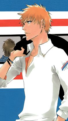 ichigo Bleach Fanart, Bleach Manga, Anime Guys, Manga Anime, Anime Art, Kawaii Chibi, Kawaii Anime, Bleach Ichigo Bankai, Bleach Pictures