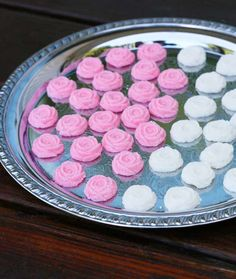 Make homemade cream cheese mints at home. Perfect for graduation parties, confirmation, and other celebrations.