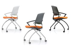 #Muzo Switch chairs. Folding and nesting portable chairs with ATB flexi-back to support us whilst we sit.
