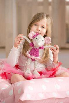PATTERN  BallerinaMouse crochet amigurumi by lilleliis on Etsy