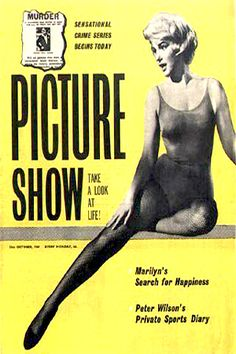 1960: Picture Show magazine cover of Marilyn Monroe .... #marilynmonroe #normajeane #vintagemagazine #pinup #iconic #raremagazine #magazinecover #hollywoodactress #1960s
