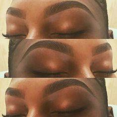 Nails black women dark skin eyebrows Ideas for 2019 – Microblading Makeup Goals, Love Makeup, Makeup Inspo, Makeup Inspiration, Makeup Tips, Beauty Makeup, Hair Makeup, Eyebrow Makeup, Eyebrow Game