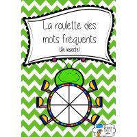 Roulette mots fréquents - Un insecte!
