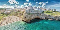 Spiagge, hotel, ristoranti e meteo di Polignano a Mare, la famosa località di vacanza della Puglia (vicino a Bari). Perfetta per un viaggio romantico in coppia