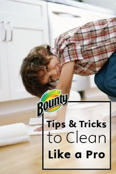 These time-saving tips and tricks from the pros to clean your home will make the unsavory chore a quick affair, letting you get back to spending quality time with your friends and family. For more advice on cleaning, check out Bounty Paper Towels.