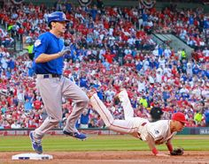 NL roundup: Soler powers Cubs to Game 2 win over Cards For one inning, Jorge Soler and all those Chicago Cubs rookies looked like playoff-tested veterans. Description from detroitnews.com. I searched for this on bing.com/images