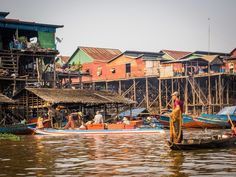 Kompong Khleang stilted village