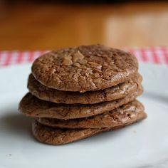 GF Recipe | Chocolate Brownie Cookies ~ Cookies Full of Fudgy Yumminess! #healthy