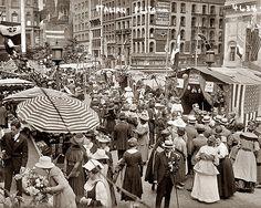 italian festa 1912 Little Italy